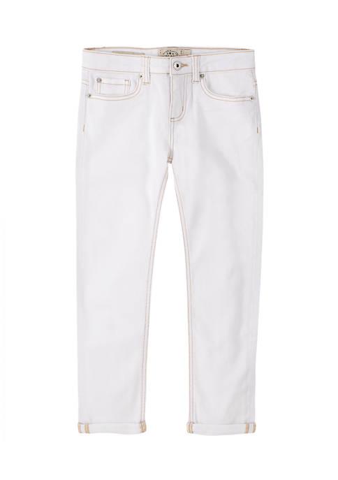 Lucky Brand Girls 7-16 Cuffed Jeans