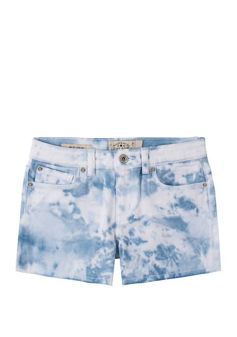 Girls 7-16 Delaney Tie Dye Shorts