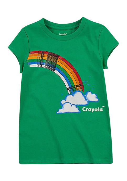 Girls 4-6x Rainbow T-Shirt