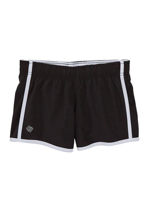 Girls 7-16 Stretch Woven Shorts