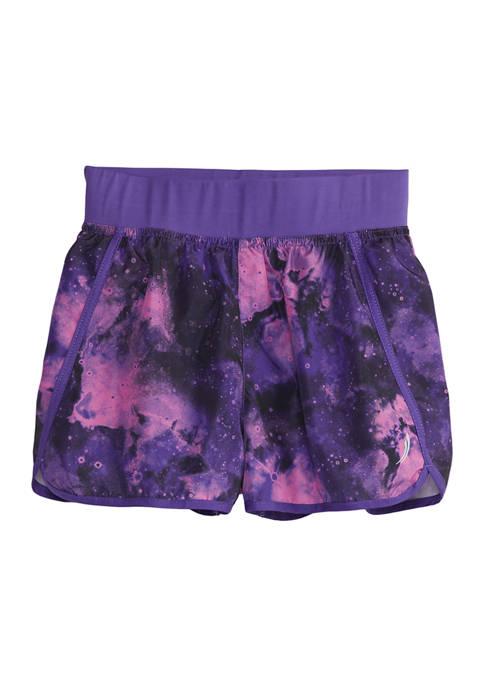 Girls 7-16 Tie Dye Running Shorts