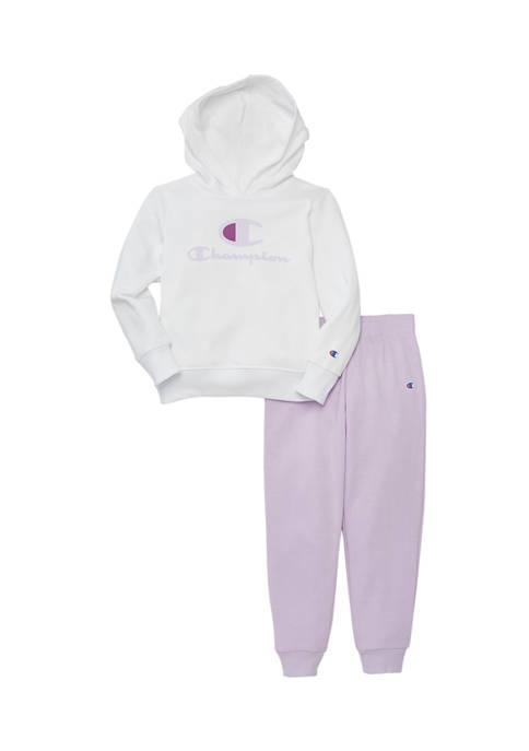 Girls 4-6x Fleece Hoodie Set