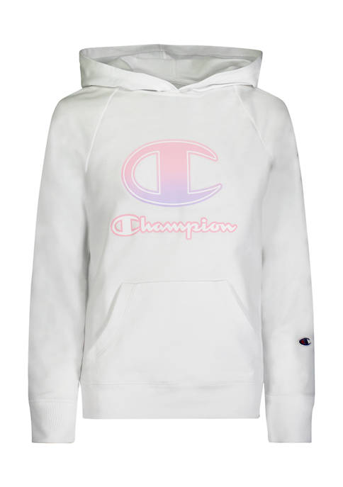 Champion® Girls 4-6x Ombré C Script French Terry