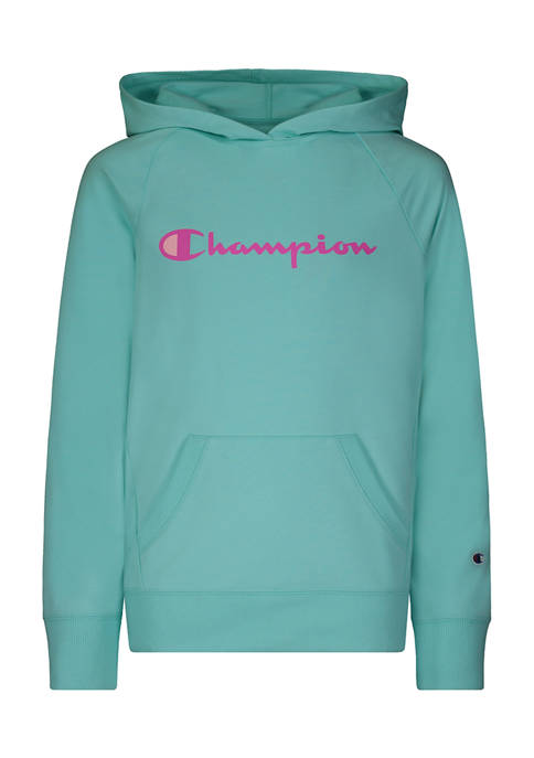 Champion® Girls 4-6x Classic Script French Terry Hoodie