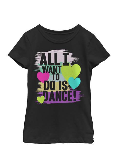 Girls 4-6 All Dance Top