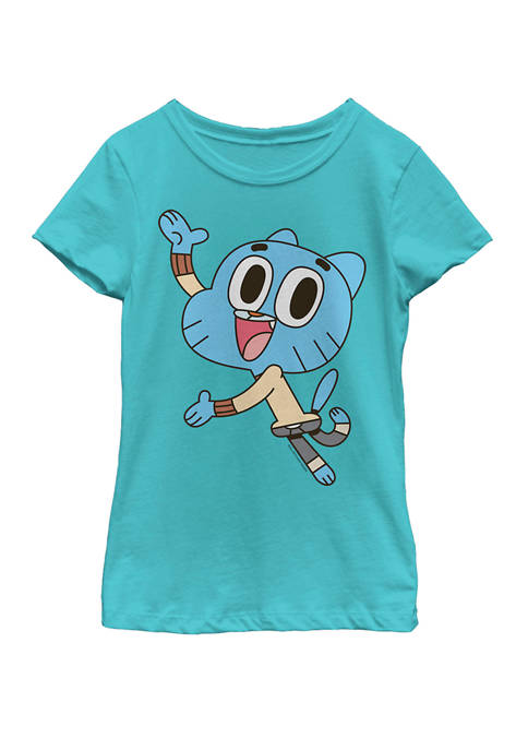 Cartoon Network Girls 7-16 Gumball Watterson Excited Jump