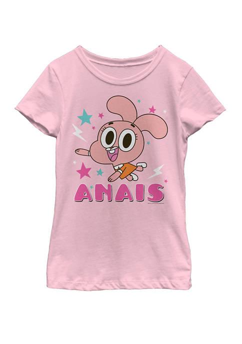 Cartoon Network Girls 7-16 Gumball Anais Watterson Character