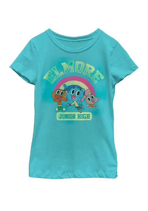 Cartoon Network Gumball Darwin Elmore Junior High Rainbow