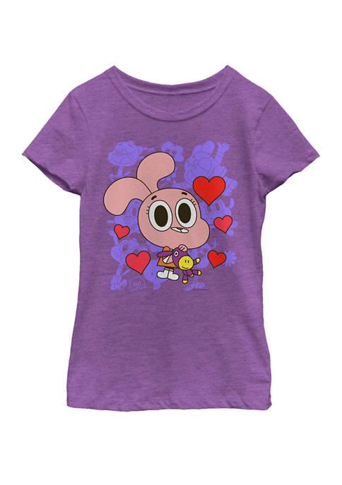 Cartoon Network Girls 7-16 Gumball Anais Friends &