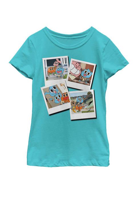 Cartoon Network Girls 7-16 Gumball Family Candid Polaroids