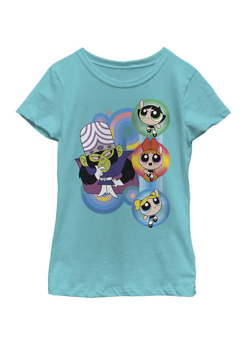 Cartoon Network Powerpuff Girls Mojo Jojo Rainbow Swirls