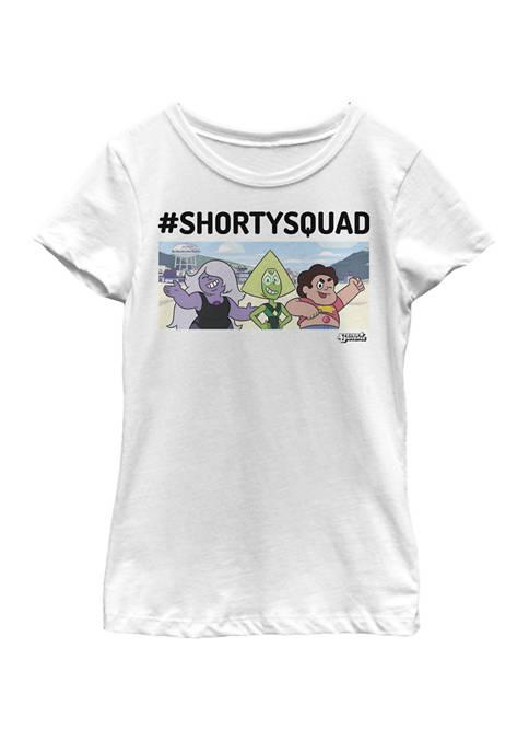 Steven Universe Shorty Squad Short Sleeve Graphic T-Shirt