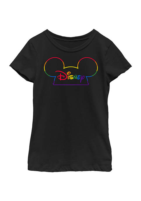 Disney® Girls 4-6x Prideful Mouse Ears Graphic T-Shirt