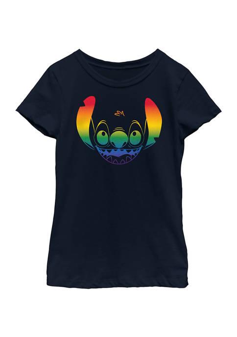 Disney® Girls 4-6x Big Face Pride Graphic T-Shirt