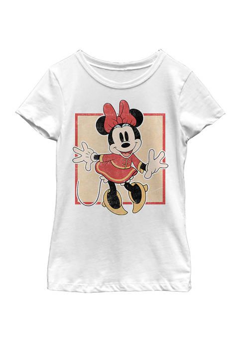 Disney® Minnie Girls 4-6x Chinese Minnie Graphic T-Shirt