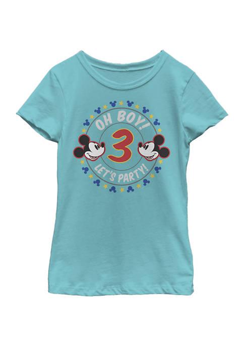 Disney® Mickey Girls 4-6x Oh Boy Mickey 3