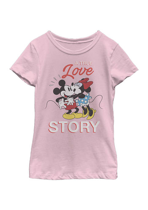 Disney® Minnie Girls 4-6x True Love Story Graphic