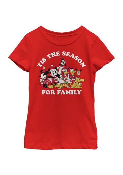 Girls 4-6x Family Season Graphic T-Shirt