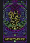 Girls 4-6x Neon Line Art Graphic T-Shirt