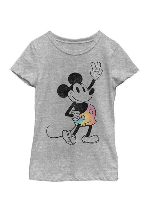 Girls 4-6x Tie Dye Mickey Graphic T-Shirt