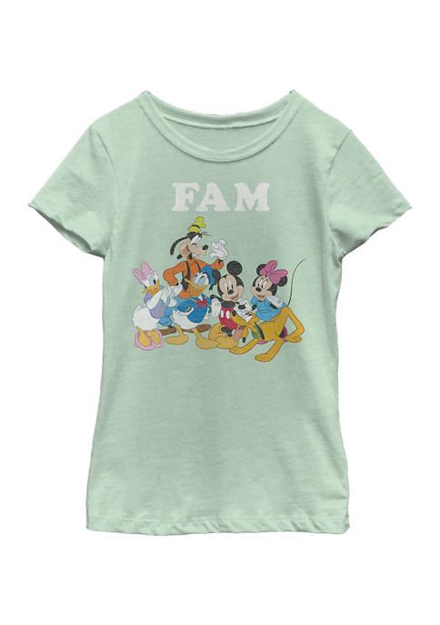 Disney® Girls 4-6x Fam Graphic T-Shirt