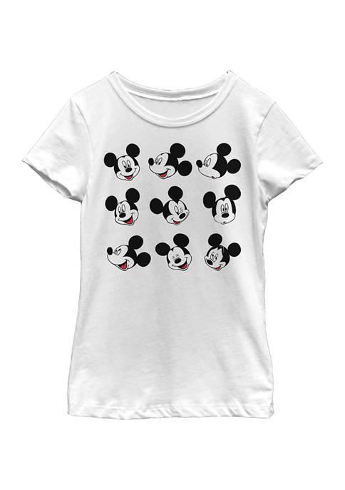 Disney® Mickey Girls 4-6x Expression Box Up Graphic