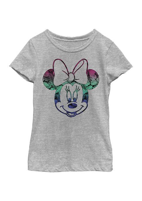 Disney® Minnie Girls 4-6x Tropic Fill Minnie Graphic