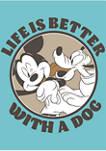Girls 4-6x Dog Life Graphic T-Shirt