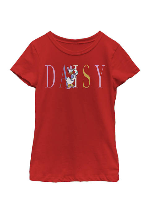 Disney® Girls 4-6x Daisy Fashion Graphic T-Shirt