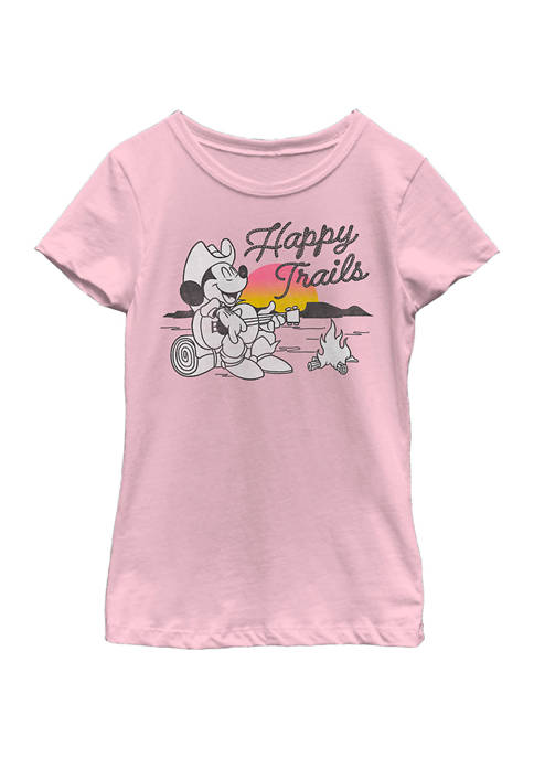 Girls 4-6x Happy Trails Graphic T-Shirt