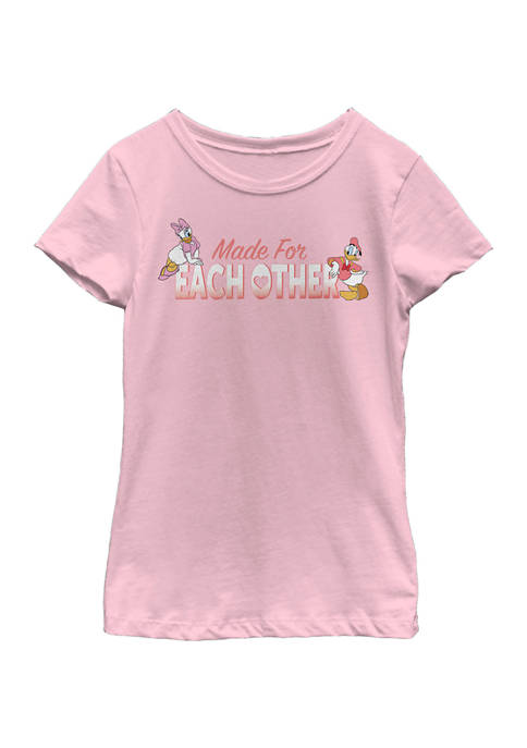 Disney® Girls 4-6x Made For Each Other Graphic