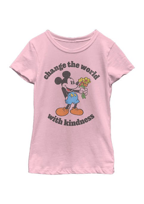 Girls 4-6x Kindness Graphic T-Shirt