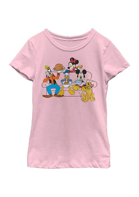 Girls 4-6x Friendsgiving Graphic T-Shirt