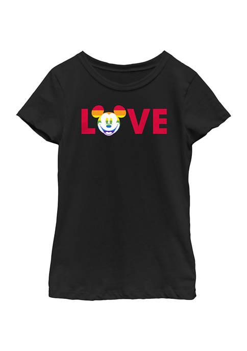 Girls 4-6x Loves Pride Graphic T-Shirt