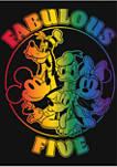 Girls 4-6x Prideful Five Graphic T-Shirt