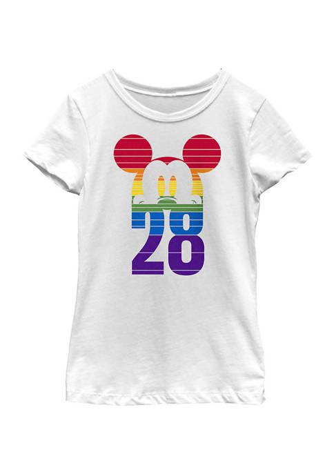 Girls 4-6x 28 Pride Graphic T-Shirt