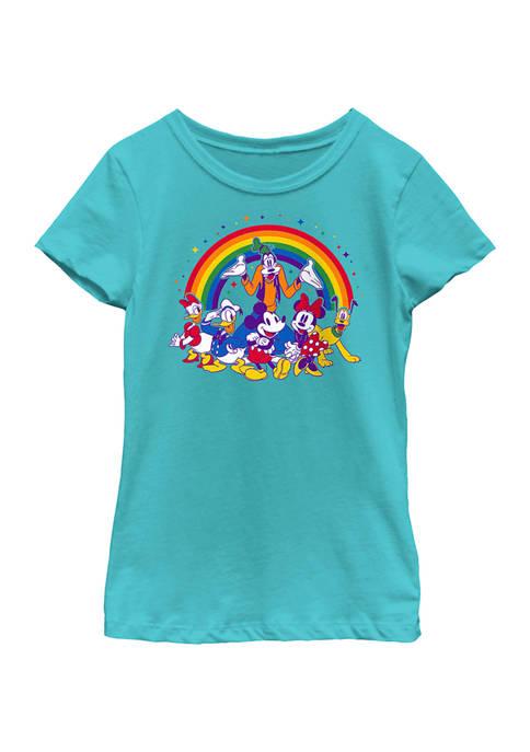 Disney® Girls 4-6x Group Pride Graphic T-Shirt
