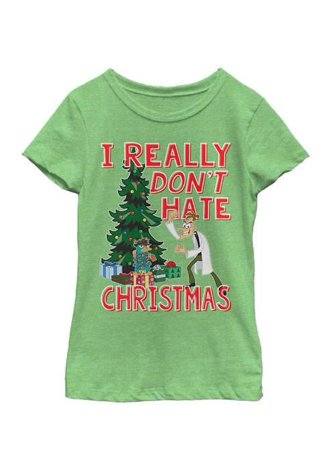 Disney® Girls 4-6 Phineas and Ferb Doof Christmas