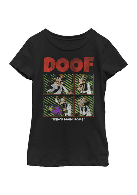Girls 4-6 Phineas and Ferb Doof Top