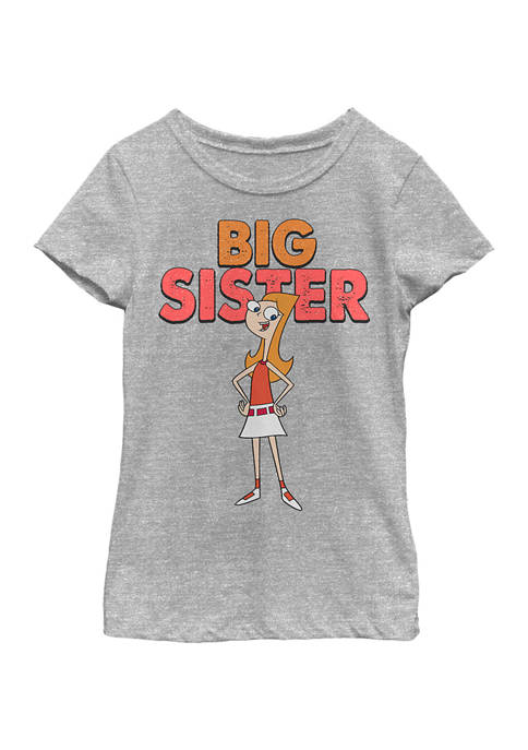 Girls 4-6 Phineas and Ferb The Sister Top