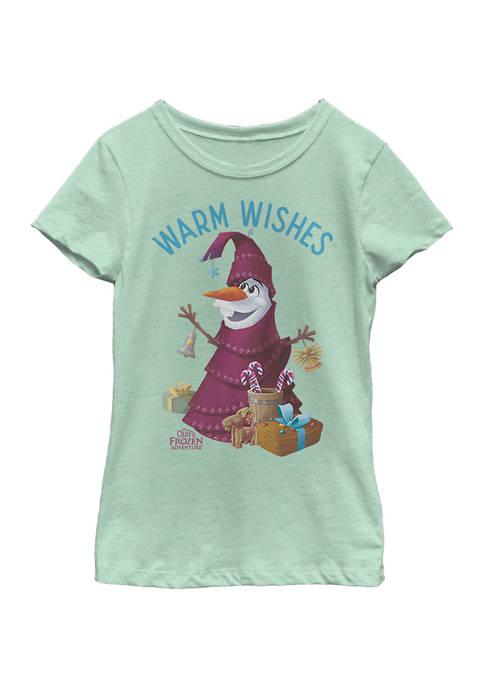 Disney® Frozen Girls 4-6x Olaf Wishes T-Shirt