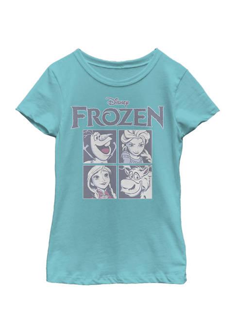 Disney® Frozen Girls 7-16 Ice Cubes Graphic T-Shirt