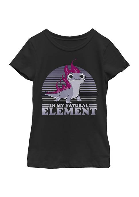 Disney® Frozen Girls 4-6x Element Flames Graphic T-Shirt