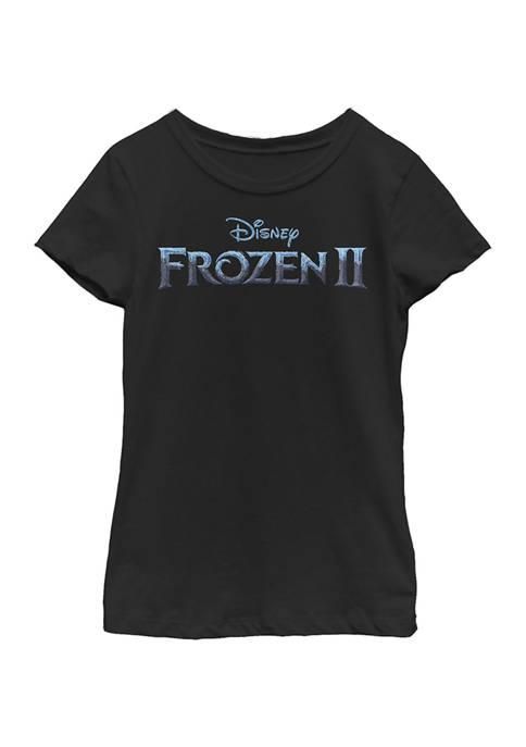 Disney® Frozen Girls 4-6x Frozen Frozen 2 Logo