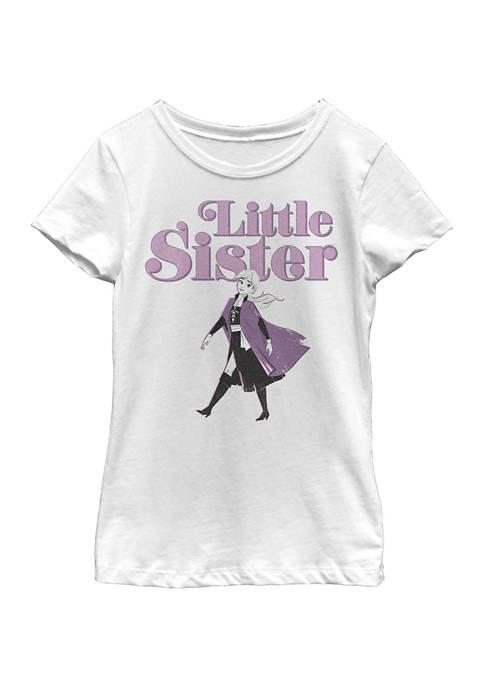 Disney® Frozen Girls 4-6x Little Sister Graphic T-Shirt