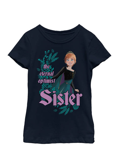 Disney® Frozen Girls 4-6x Optimist Sister Graphic T-Shirt