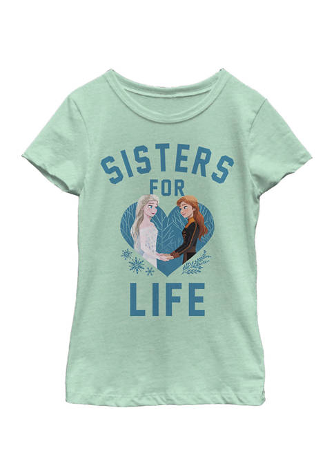 Disney® Frozen Girls 4-6x Sisters For Life Graphic