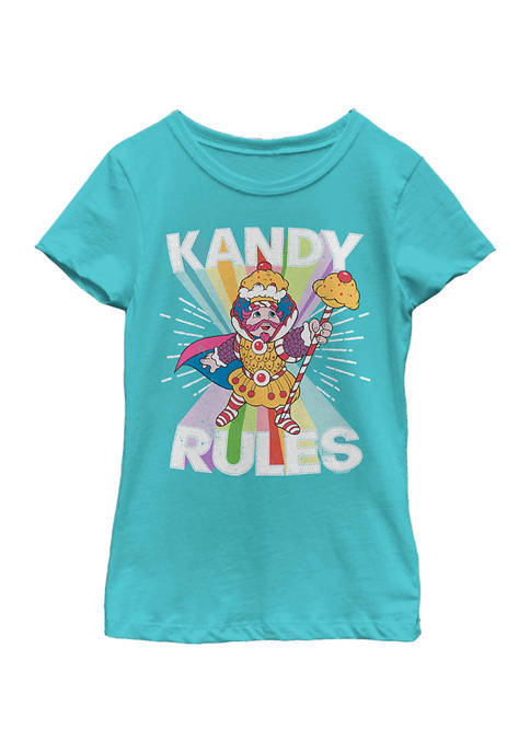 Girls 4-6x Kandy Rules Graphic T-Shirt