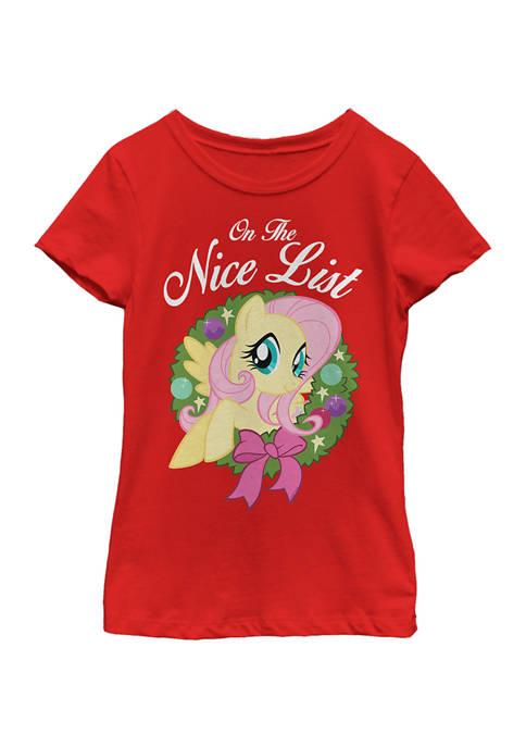 My Little Pony™ Girls 4-6x Nice List Fluttershy
