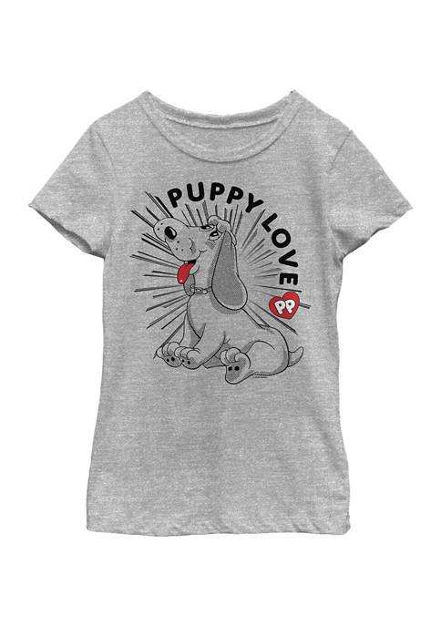 Pound Puppies Girls 4-6x Puppy Love Graphic T-Shirt
